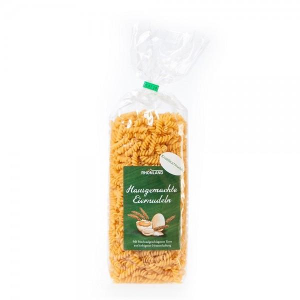Knoblauch-Nudeln (Spirelli)