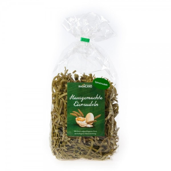 Spinat-Nudeln (Bandnudeln)