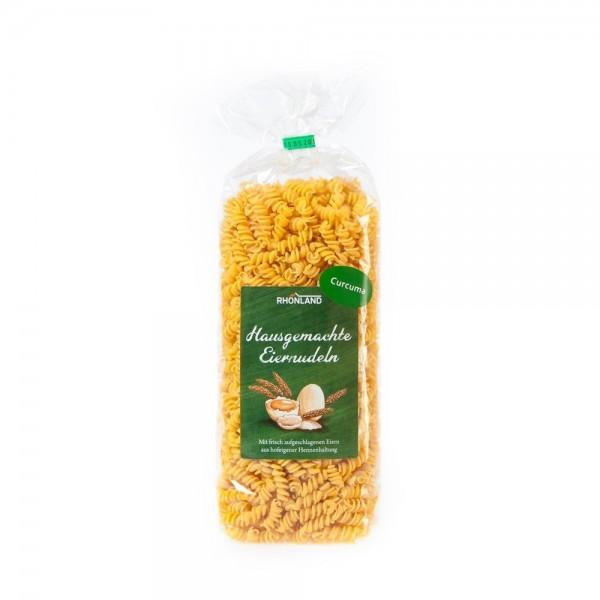 Curcuma-Nudeln (Spirelli)